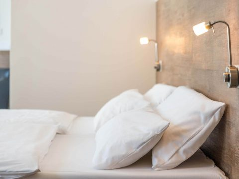 Einzelzimmer-Bett